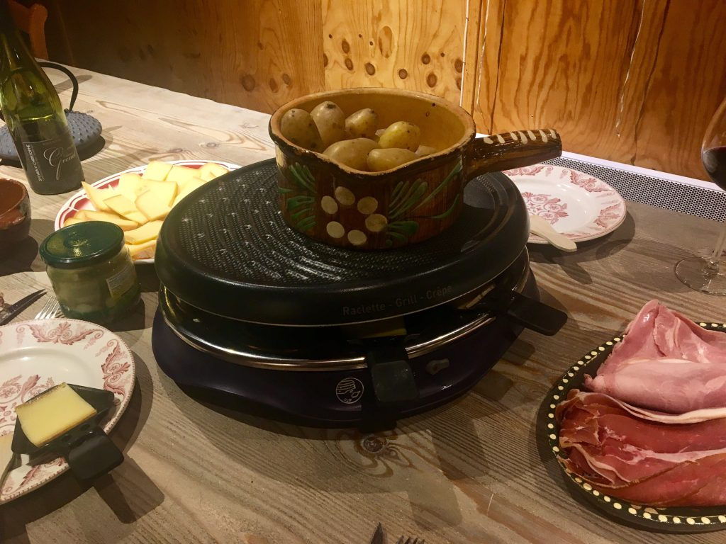 raclette set cheese