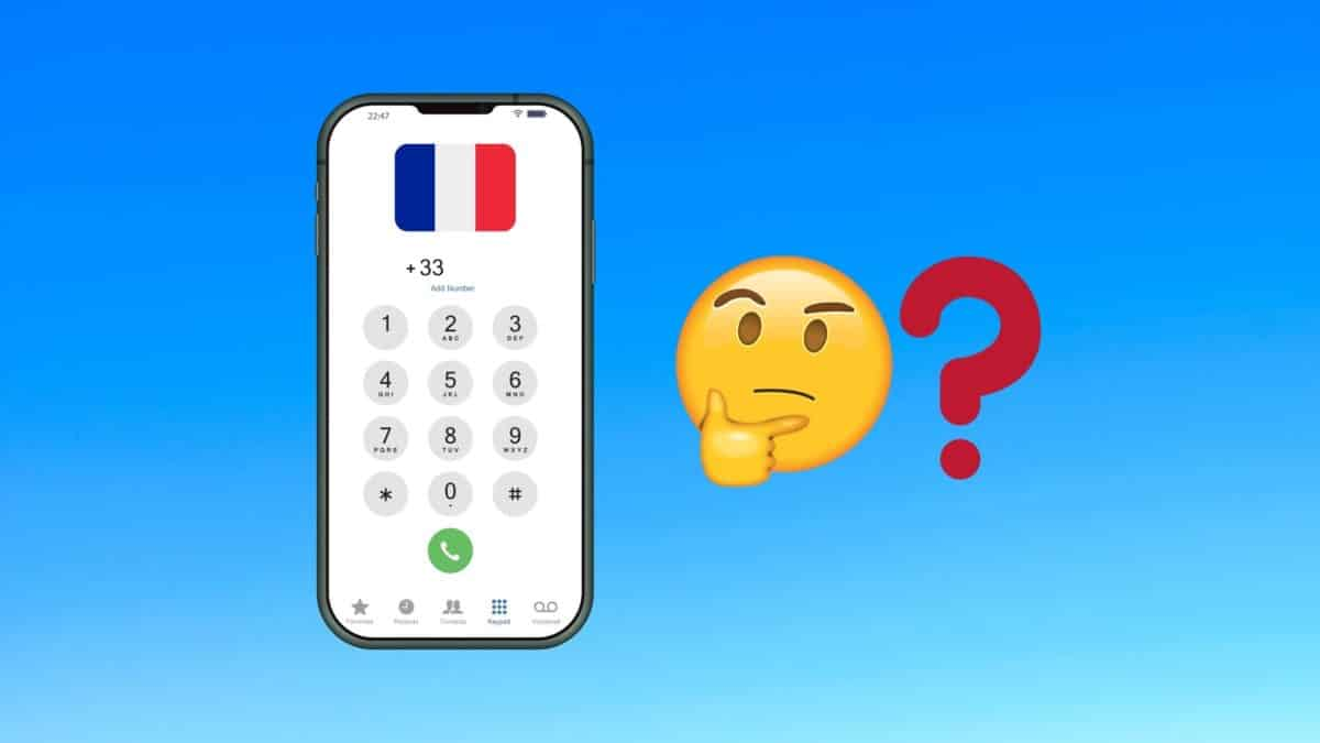 Call French phone numbers