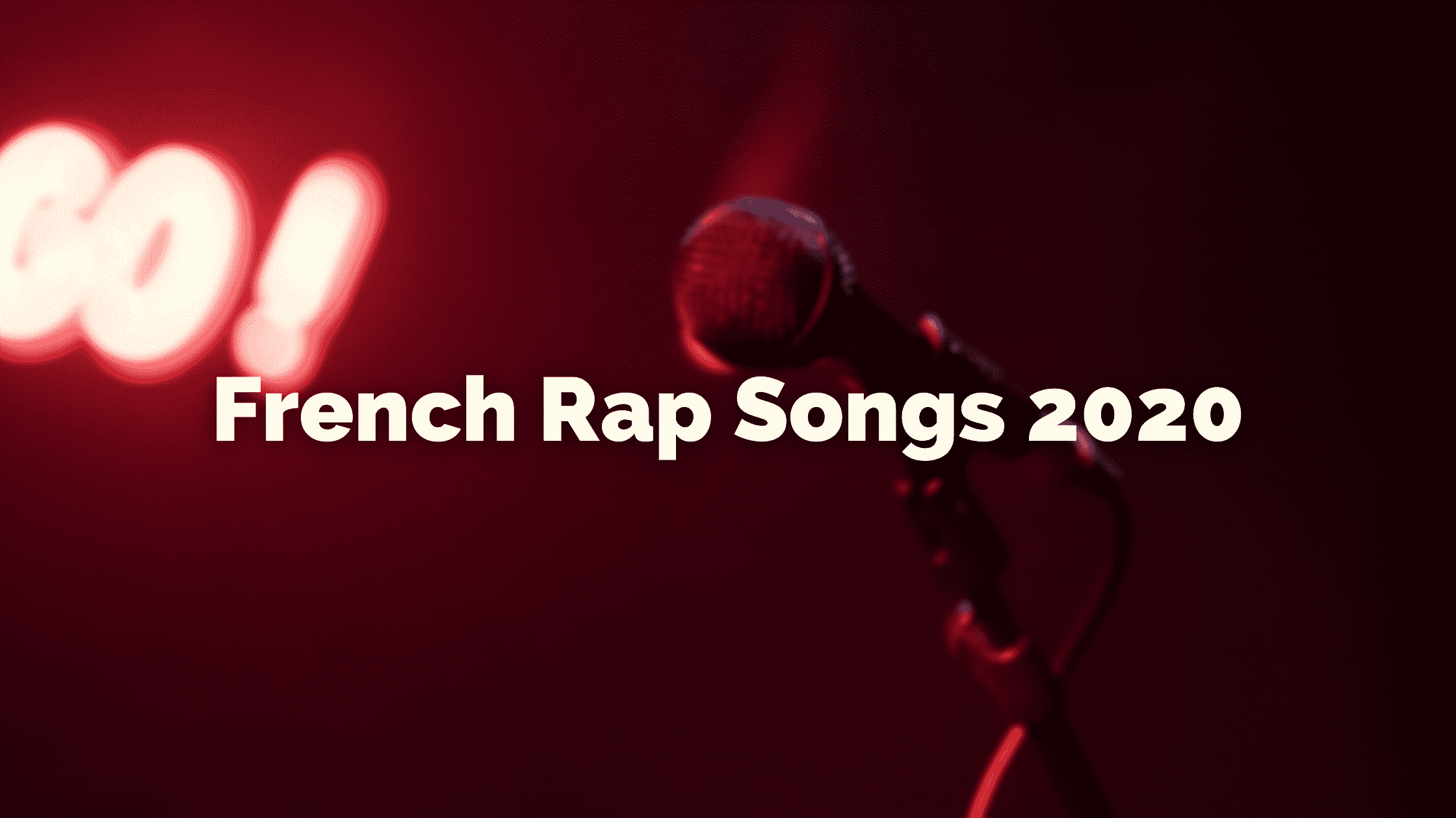 French rap song from 2020