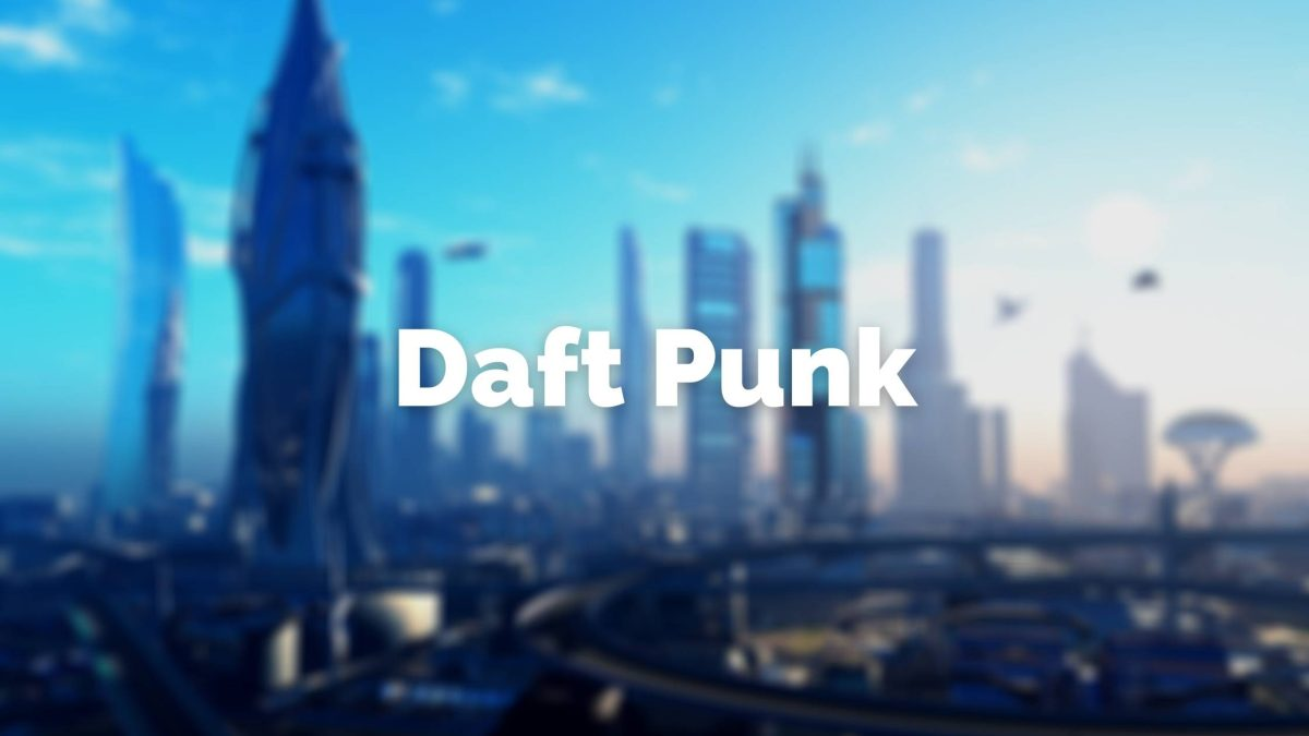 Daft Punk music duo